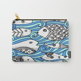 Fishy Friends Carry-All Pouch