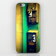mailboxes iPhone & iPod Skin