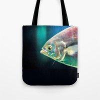 swim Tote Bags featuring Swim by Iain Christopher Mclellan Bastidas