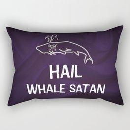 Hail Whale Satan Rectangular Pillow