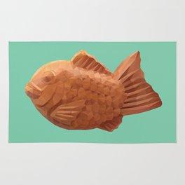 Taiyaki polygon art Rug