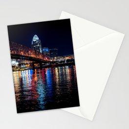 City night bridge Stationery Cards