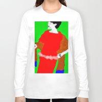 sarah paulson Long Sleeve T-shirts featuring Sarah by Alec Goss