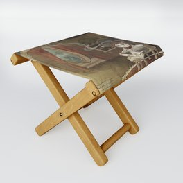 A Merrier World Folding Stool