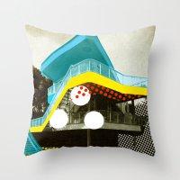 bauhaus Throw Pillows featuring BauHaus 4 by Marko Köppe