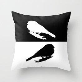 Bullfinch Throw Pillow
