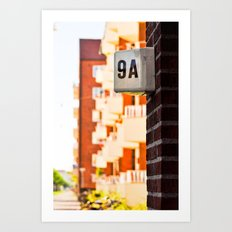 Apartment 9A Art Print