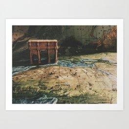 worldly Art Print