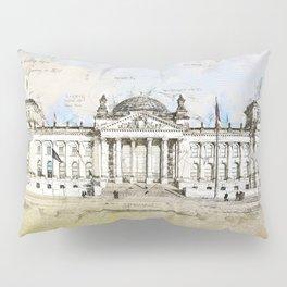 Reichstag, Berlin Germany Pillow Sham