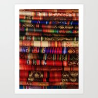 blankets Art Prints featuring Handmade Blankets by rhamm