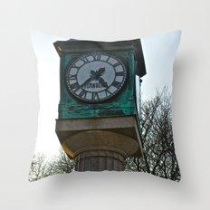 Tick Tock Throw Pillow