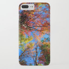 Colorful, Autumn In New Hampshire by OLena Art iPhone Case