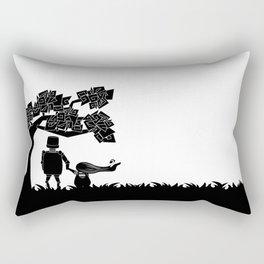 The child and the robot Rectangular Pillow