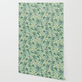 Green Grape Pattern Wallpaper