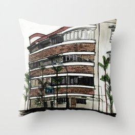 78 Yong Siak Road Throw Pillow