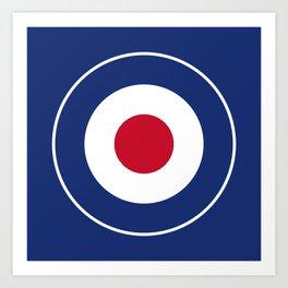 RAF Type D Roundel Art Print