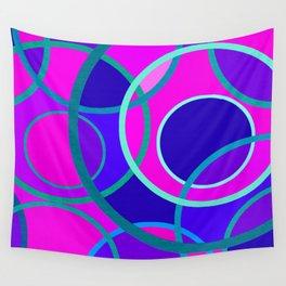 Abstract circle 199 Wall Tapestry