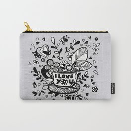 Coffee Love Chat - part 1 Carry-All Pouch