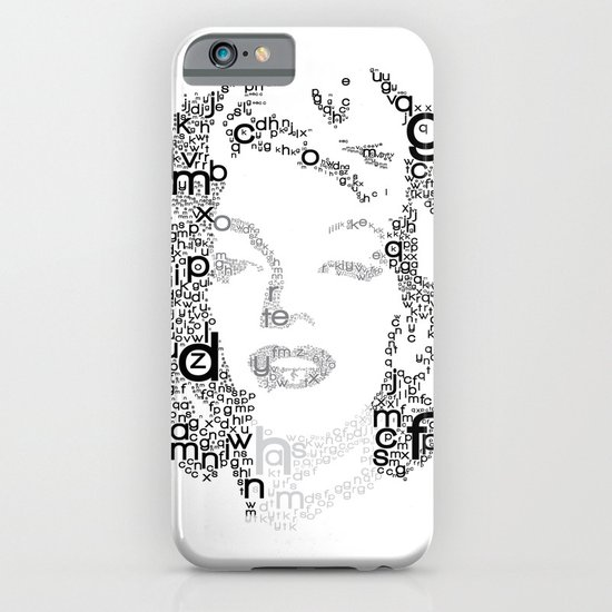 Black Letters iPhone & iPod Case