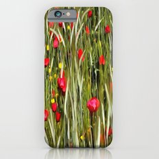 Red Poppies In A Cornfield iPhone 6s Slim Case