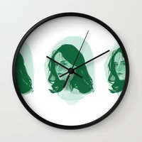 teen wolf Wall Clocks featuring Teen Wolf - Allison by days & hours