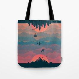 Sunrise / Sunset Tote Bag