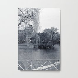 Willow City - Boston Bridge Metal Print
