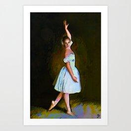 Dance Recital Art Print