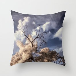 R72: Tree Throw Pillow