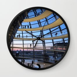 F O S T E R | architect | Reichstag, New German Parliament Wall Clock