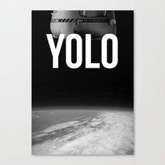 Felix Baumgartner YOLO Canvas Print