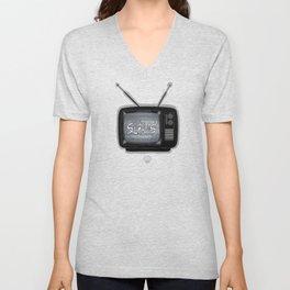 Tv Slaves Unisex V-Neck