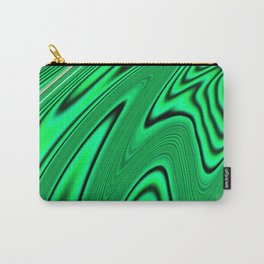 Abstract Fractal Colorways 03 Malalchite  Carry-All Pouch