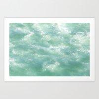 Wavey Art Print