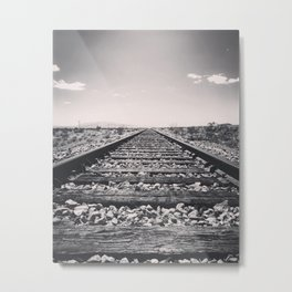 Rice Road Metal Print