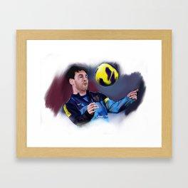 Leonel Messi Framed Art Print