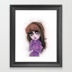 I have no reflection Framed Art Print
