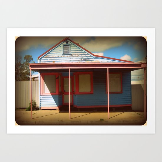 For sale at $2,000 - The house, not the Print! Art Print