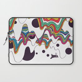 Psychedelic Planet Laptop Sleeve