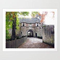 Dean Castle Art Print