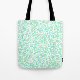 Abstract Beach Bubbles Watercolor Tote Bag
