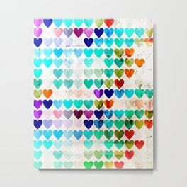 Club of lonely Hearts Metal Print
