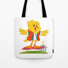 Hover Bird Tote Bag