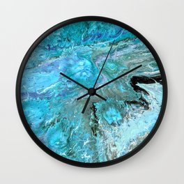 Sea of Jellies Wall Clock