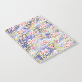 Japanese floral pattern Notebook