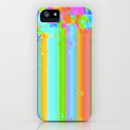 Candy Glitch iPhone Case