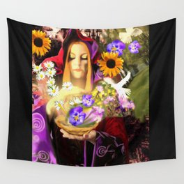 Invocating Summer Wall Tapestry