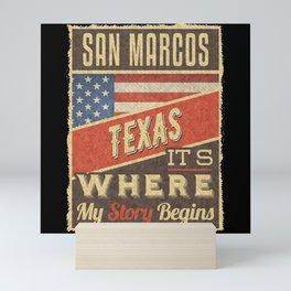 San Marcos Texas Mini Art Print