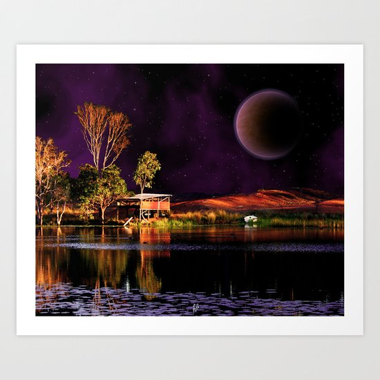When dreams are living in my sleep Art Print