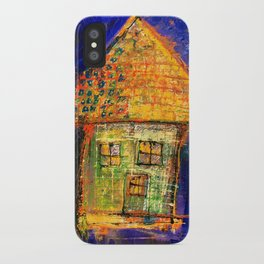 Yellow roof iPhone Case